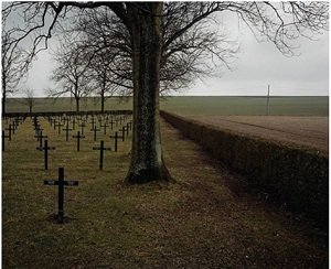 german cemetery, vermandovillers, somme, picardie, france by bertrand carrière