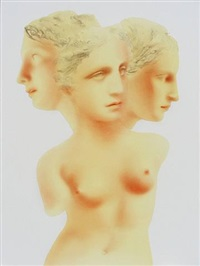 mes trois visages by wang yu