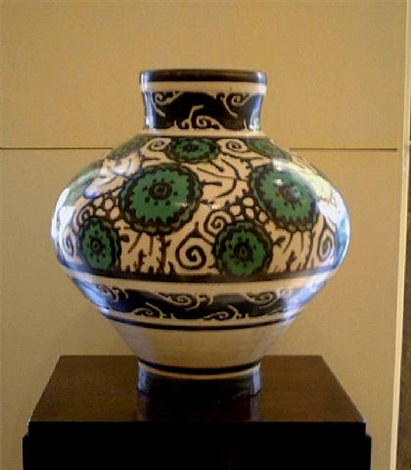 vase by emile lenoble