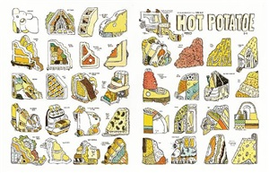 hot potatoe, endpaper by marc bell