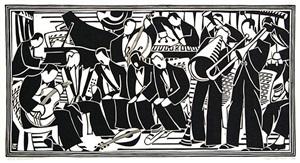jazz orchestra by lill tschudi