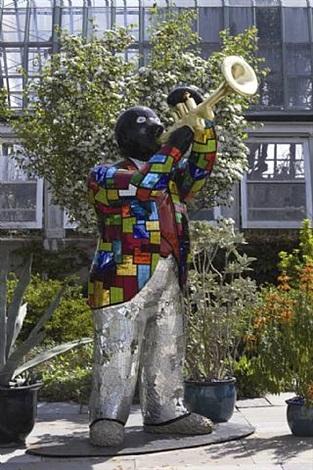 louis armstrong by niki de saint phalle