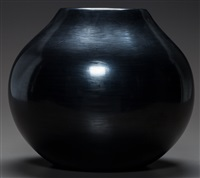 santa clara blackware jar by nathan youngblood