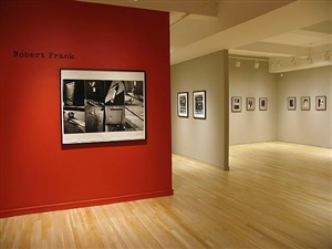 installation view by robert frank