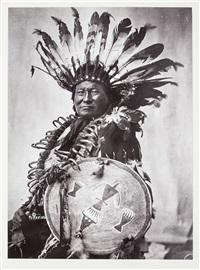 sioux indians (portfolio w/ 30 works) by frank bennett fiske