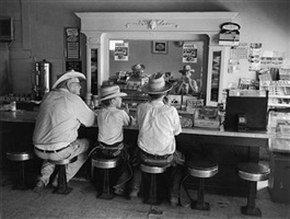 arnolds, cafe, lovelady, texas, 1956 by guy gillette