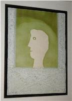 cabeza en la ventana by rufino tamayo