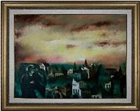 the saint of the flaming city by raymond breinin