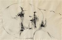 untitled - head by leonard baskin