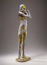 standing female figure no. 6 (cast1/4) by manuel neri