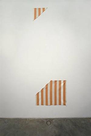 photo-souvenir : une peinture en deux by daniel buren