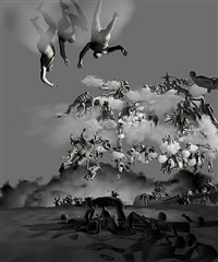 the last judgement in cyberspace -the rear view by miao xiaochun