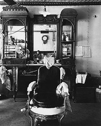 barber shop, weeping water, nebraska by wright morris