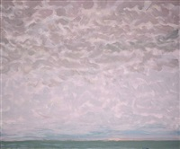restless sky at dusk by jane wilson