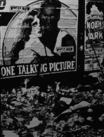 1925 movies, after ralph steiner (pictures of paper) by vik muniz