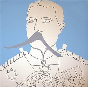 general, from john wesley print portfolio, panoply by john wesley