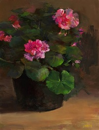 geraniums (sold) by john smith