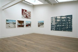 installation view brohm ottersbach, culatra/areal, 2009