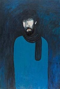 gentleman in blue by chiu ya-tsai