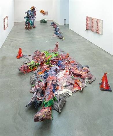 installation view by fabian marcaccio