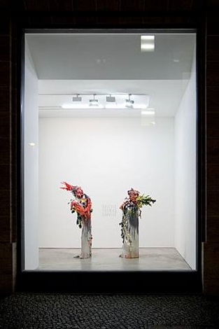 installation view by fabian marcaccio