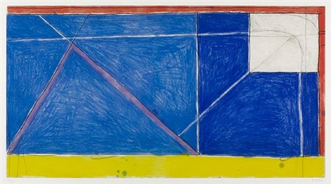 red, yellow, blue by richard diebenkorn