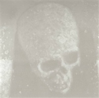 skull by luca pancrazzi