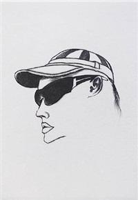 woman in sunglasses by colin self