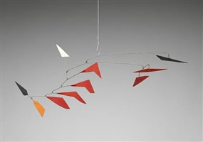 national gallery maquette #2 by alexander calder