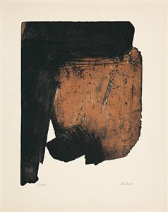 accrochage by pierre soulages