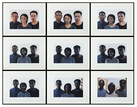 shanghai family tree by zhang huan