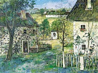 farmhouses in mühlviertel by ernst huber