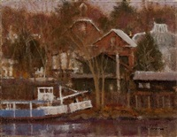 river boat - sold by anthony michael autorino