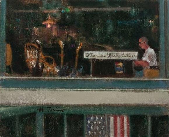upstairs - jeff klines by anthony michael autorino