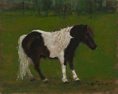 wee horse #1, seven pines farm by anthony michael autorino