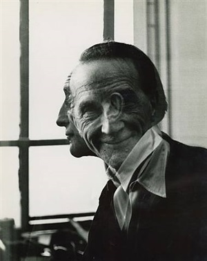 portrait of marcel duchamp by victor obsatz
