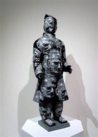 terracotta warrior samuel beckett by liu fenghua & liu yong