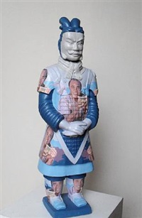 terracotta warrior ken hom by liu fenghua & liu yong