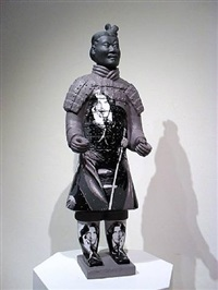 terracotta warrior oscar wilde by liu fenghua & liu yong