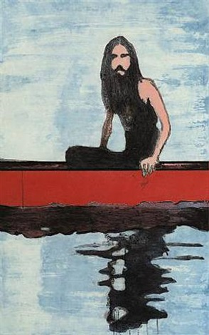 100 years ago by peter doig