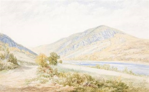 delaware water gap by john william hill