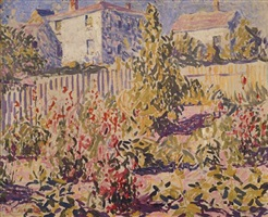 provincetown garden by e. ambrose webster