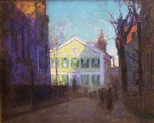 the street beyond by paul cornoyer
