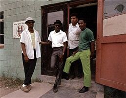 four young men, washington by evelyn hofer
