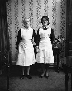 anna and emma by evelyn hofer