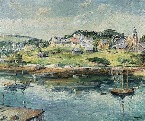 rockport harbor by max kuehne