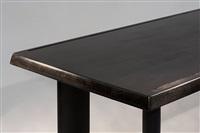 table de salle à manger noire by charlotte perriand