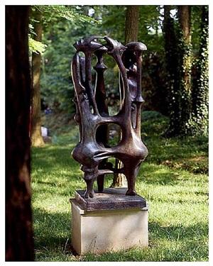composition aux trois formes by agustin cárdenas