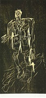 poet in stiefeln(remix) by georg baselitz