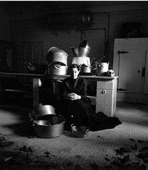 the kitchen iii - homage to saint therese by marina abramovic